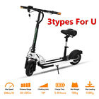 NEW 350W ADULT 36V BATTERY ELECTRIC RIDE ON E SCOOTER + SEAT