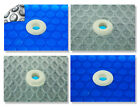 18 x 33 Oval Swimming Pool Solar Blanket 800 1200 and 1600 Series W Grommets