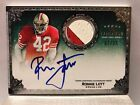 Ronnie Lott Patch Auto 35 5 Star 2010 Topps