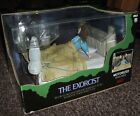 Neca The Exorcist Regan Possessed Deluxe Boxed Set Plays Theme Head Spins Mint