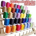 NEW 40 Spools Embroidery Thread Match SE400 Brother Singer Machine Beautiful