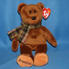 Ty Beanie Baby Gramps - MWMT (Bear Grandfather Internet Exclusive 2005)