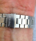 Tag Heuer Carrera Mens Full Size Stainless Steel Watch Band 19/18mm in Exc. Cond