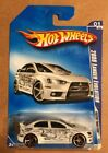 2009 Hot Wheels Faster Than Ever 2008 Lancer Evolution White Walmart Exclusive
