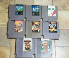 Nintendo NES Games - Pick a Title - Cleaned /Tested - Gyromite Rush Demon Sword