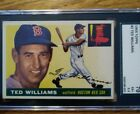 1955 Topps #2 Ted Williams SGC 70