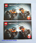 Lego Technic 42001 Mini Off-Roader - INSTRUCTION BOOK 1 & 2 ONLY - No Lego
