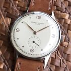 VINTAGE BAUME & MERCIER MEN'S WATCH 50's 35mm Serviced Exc Cond Keeps Great Time