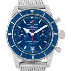 New Breitling Superocean Heritage 44 Men's Watch Blue Dial Watch A23370