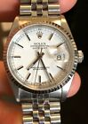 Rolex Datejust 16234 Stainless Steel & 18K White Gold Automatic Men's Watch