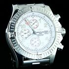 BREITLING SUPER AVENGER STAINLESS STEEL AUTOMATIC WRIST WATCH A13370