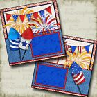FIREWORKS Premade Scrapbook Pages EZ Layout 2755