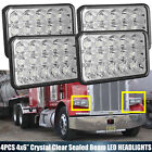 For Peterbilt 386 340 365 384 385 357 379 372 LED Headlight Beam HID Bulb 4PC