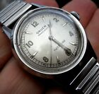 Vintage GRUEN ~ Men's WRISTWATCH ~ AUTOMATIC ~ 460 SS Bumper 17J ~ STAINLESS