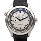 ZENITH Class 03.0520.687/01.C678 SS Leather belt Dial:Silver color Very good
