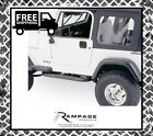 Rampage 68035 Complete Soft Top Kit for 1976 1986 Jeep CJ7 for 1987 1995 Wran