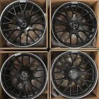 19 MERCEDES BENZ AMG S63 S65 S560 GT WHEELS RIMS FLAT BLACK GENUINE GERMANY 2019
