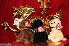 TY SET OF 3 DIGGIDY*CHASER*BOUNDS BEANIE DOGS-RETIRED-2007-NICE GIFT