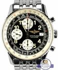 Men's Breitling Old Navitimer II Chronograph Black Steel 41.5mm A13022 Watch