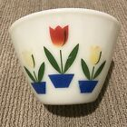 Vintage FIRE KING OVEN WARE 2 Tulip Mixing Bowl Set Mixing Bowls 7.5