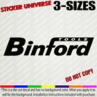 Binford Tools Decal Sticker For Toolbox Car Truck Laptop Home Improvement Tv 550
