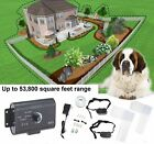 Underground Electric Dog Fence System Waterproof Shock Collars For 2 Dogs Safety