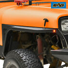 EAG Front Fender with Flare and LED Eagle Light for 1987 1996 Jeep Wrangler YJ