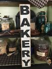 Rustic BAKERY Sign Farmhouse Primitive country handmade sign home
