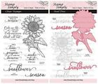 Stamp Simply Clear Stamps 2 Pack Christian Sunflower Season Garden Flower