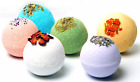 Bath Bombs Gift Set All Natural Ingredients and Organic Oils - 3.2oz/each bomb