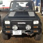LARGER PHOTOS: DIAHATSU Fourtrack 4x4 2.8 Turbo set up for both road and off road