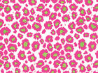 Hot Pink Lime LEOPARD Animal Print Tissue Paper for Gift Wrapping 15x20 Sheets