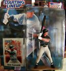 Hasbro 2000 STARTING LINEUP - JOSE CANSECO TAMPA BAY DEVIL RAYS