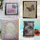 Garden Butterfly Flying Cutting Dies Craft Easter Embossing Stencil Template DIY