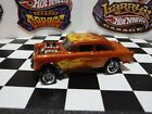Hot Wheels 55 Chevy Gasser Custom Paint Flames Real Riders