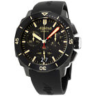 Alpina Seastrong Diver 300 Black Dial Silicone Strap Men's Watch AL-372LBBG4FBV6