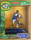 1998 Starting Lineup Gridiron Greats Football BARRY SANDERS MIP never opened