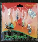 Disney Parks Zootopia 6 Pin Booster Pack Set NEW ITEM
