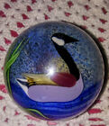 Orient and Flume Art Glass Signed Paperweight
