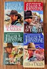WILLIAM W JOHNSTONE LOT 4 WESTERN PAPERBACK BOOKS SHIPS FREE 100 EAGLES TITLES