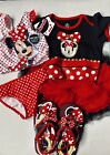 NWT GIRL 18 24 M 2 T MINNIE MOUSE LOT BATHING SUIT SPRING VACATION DISNEY BABY