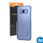 Genuine Spigen Thin Fit Cover Case Blue Coral For Sasung Galaxy S8+ Plus
