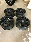 MERCEDES BENZ OEM FACTORY 18 WHEELS RIMS BLACK G55 G500 G550 G WA