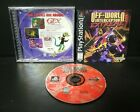 Off-World Interceptor Extreme (Sony PlayStation 1, 1995) PS1 Jewel Case Complete