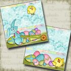 EASTER PARADE NPM 2 Premade Scrapbook Pages EZ Layout 2850
