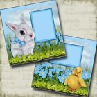 EASTER FRIENDS 2 Premade Scrapbook Pages EZ Layout 2857