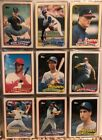 Complete 132 Card 1989 Topps Traded Set with #41T Ken Griffey JR Rookie
