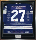 Frank Mahovlich CCM® Career Jersey #1 of 199 - Autographed - Toronto Maple Leafs