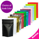 Multi-Color & Sizes Matte Two Sided High Quality Foil Stand up Zip Lock Bag M