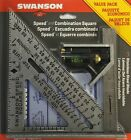 Swanson Tool S0101CB Speed Square Layout Tool w/Blue Book Combination Square